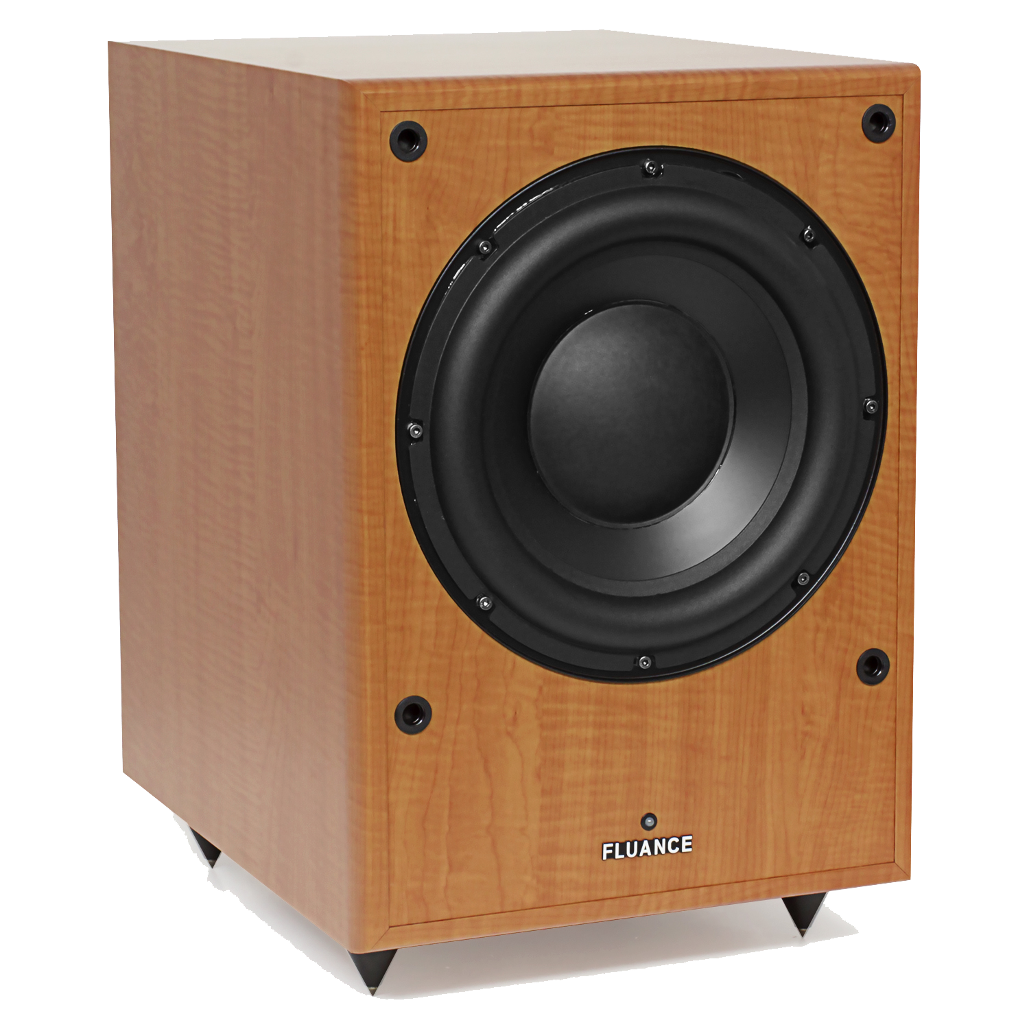 DB150 10 inch 150 Watt Low Frequency Powered Subwoofer - Natural Beech