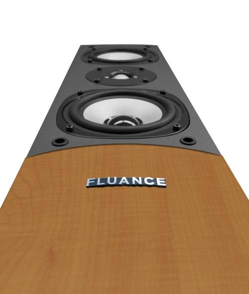 Fluance™ High-Fidelity Three-way Floorstanding Loudspeaker SV10Single-Right