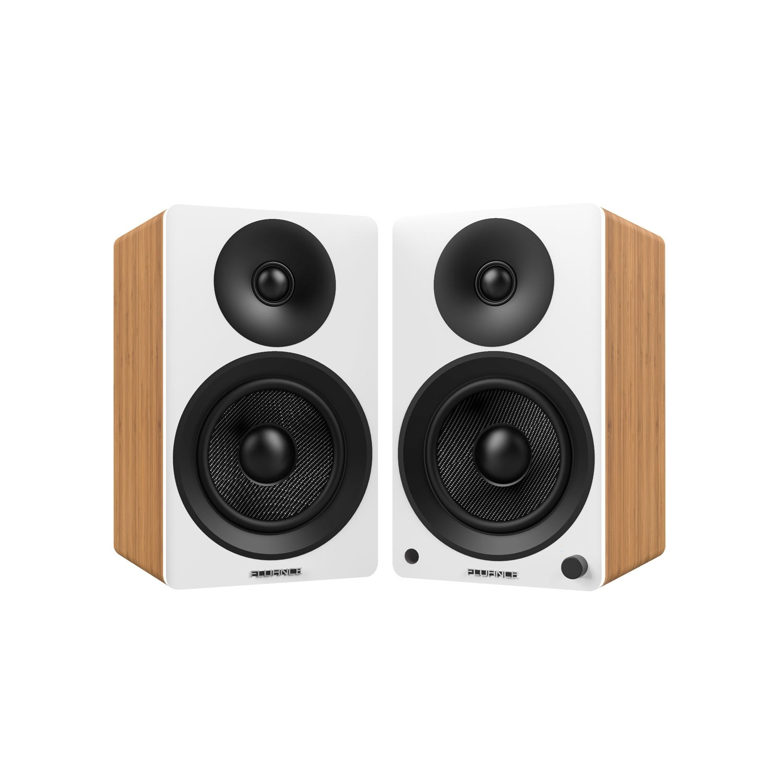 "Ai40 Powered 5"" Bookshelf Speakers - Lucky Bamboo"