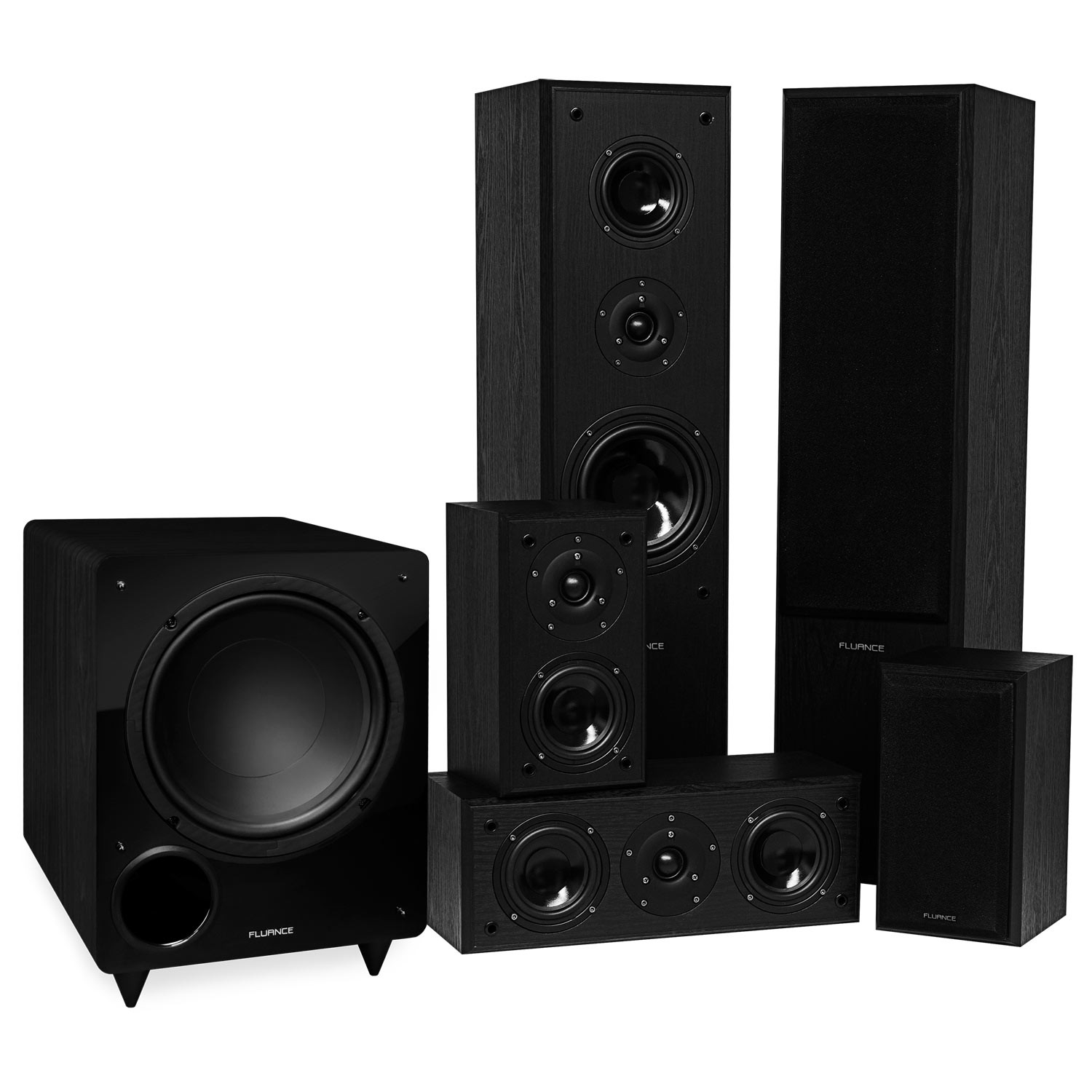 Classic Series Surround Sound Home Theater 51 Channel Speaker