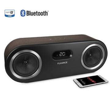 Fi50 Two-Way High Performance Wireless Bluetooth Wood Speaker System