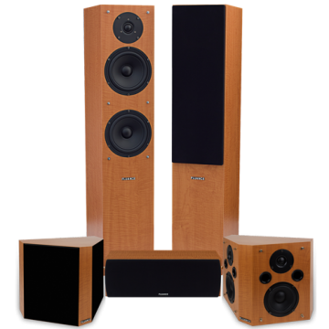 Classic Elite Home Theater System with Bipolar Speakers