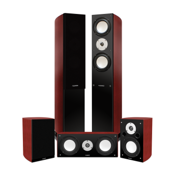 XLHTB High Performance 5 Speaker Surround Sound Home Theater System