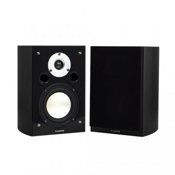 XL7S High Performance Two-way Bookshelf Surround Sound Speakers - Black Ash