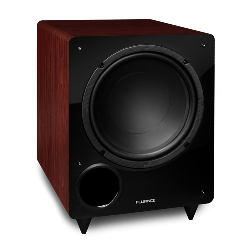 DB10 10-inch Low Frequency Ported Front Firing Powered Subwoofer (Mahogany)