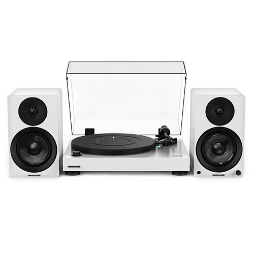 "20th Anniversary Edition – RT81 Elite High Fidelity Vinyl Turntable with Ai40 5"" Powered Bookshelf Speakers"