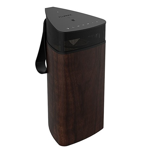 Fi20 High Performance Portable Wireless 360 Degree Speaker - Natural Walnut - Alternate 3