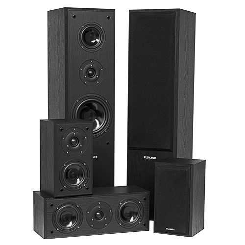 Classic Series Surround Sound Home Theater 5.0 Channel Speaker System