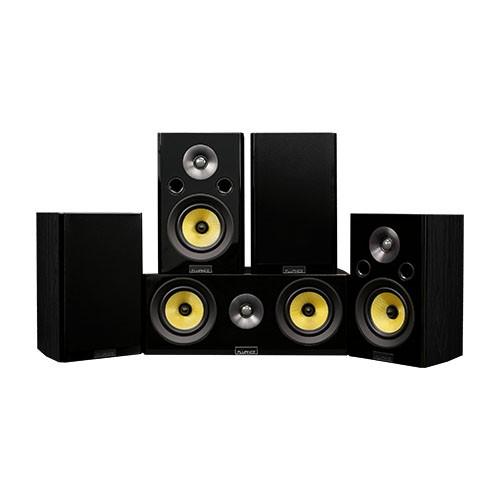 Signature Series Hi-Fi 5.0 Home Theater Speaker System with Bookshelf Speakers