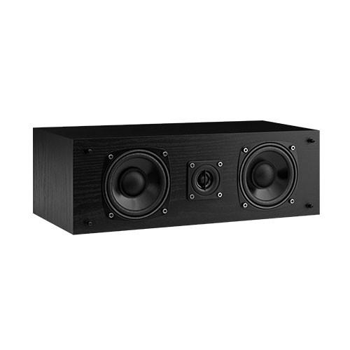 Fluance SXC High Definition Two-Way Center Channel Speaker - Black Ash