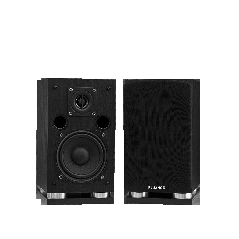 SXSS Surround Sound Speakers - Black Ash (pair)
