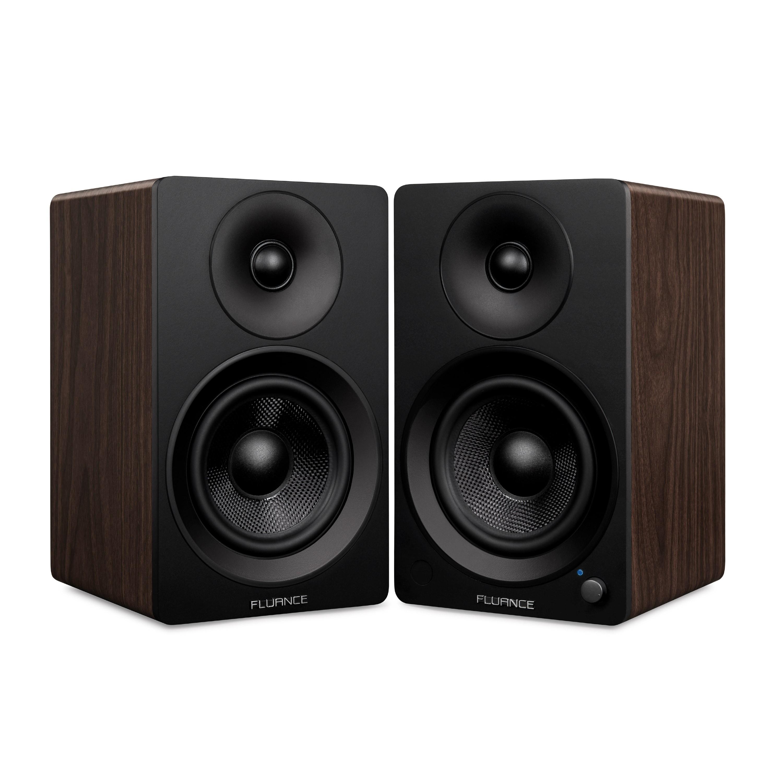 "Ai40 Powered 5"" Bookshelf Speakers - Natural Walnut"
