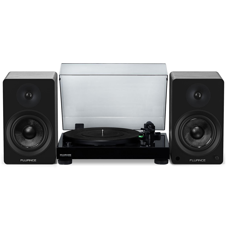 "RT81 Elite High Fidelity Vinyl Turntable with Ai61 Powered 6.5"" Stereo Bookshelf Speakers - Main"