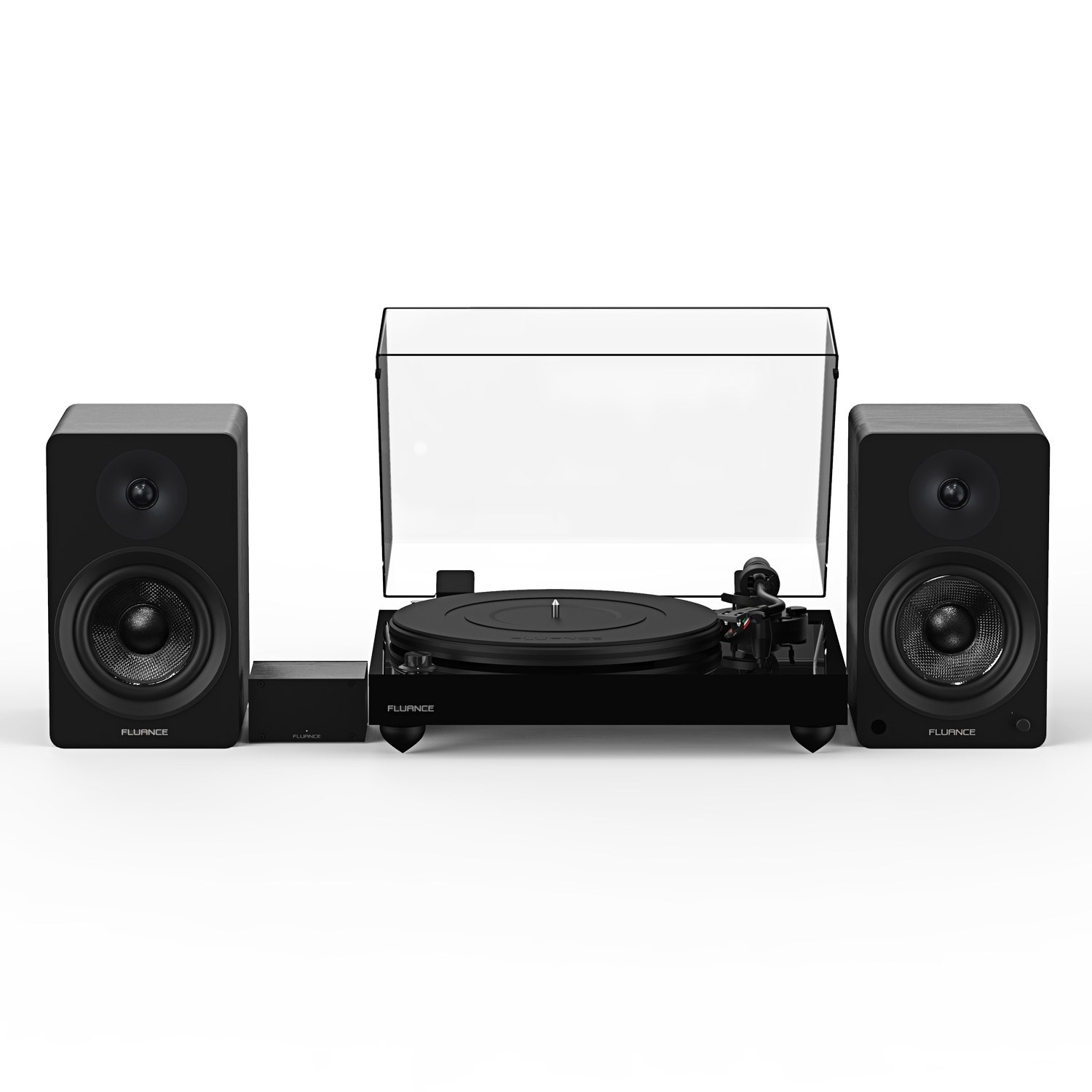 """Reference RT82 High Fidelity Vinyl Turntable with PA10 Phono Preamp and Ai41 Powered 5"""" Bookshelf Speakers - Main"""