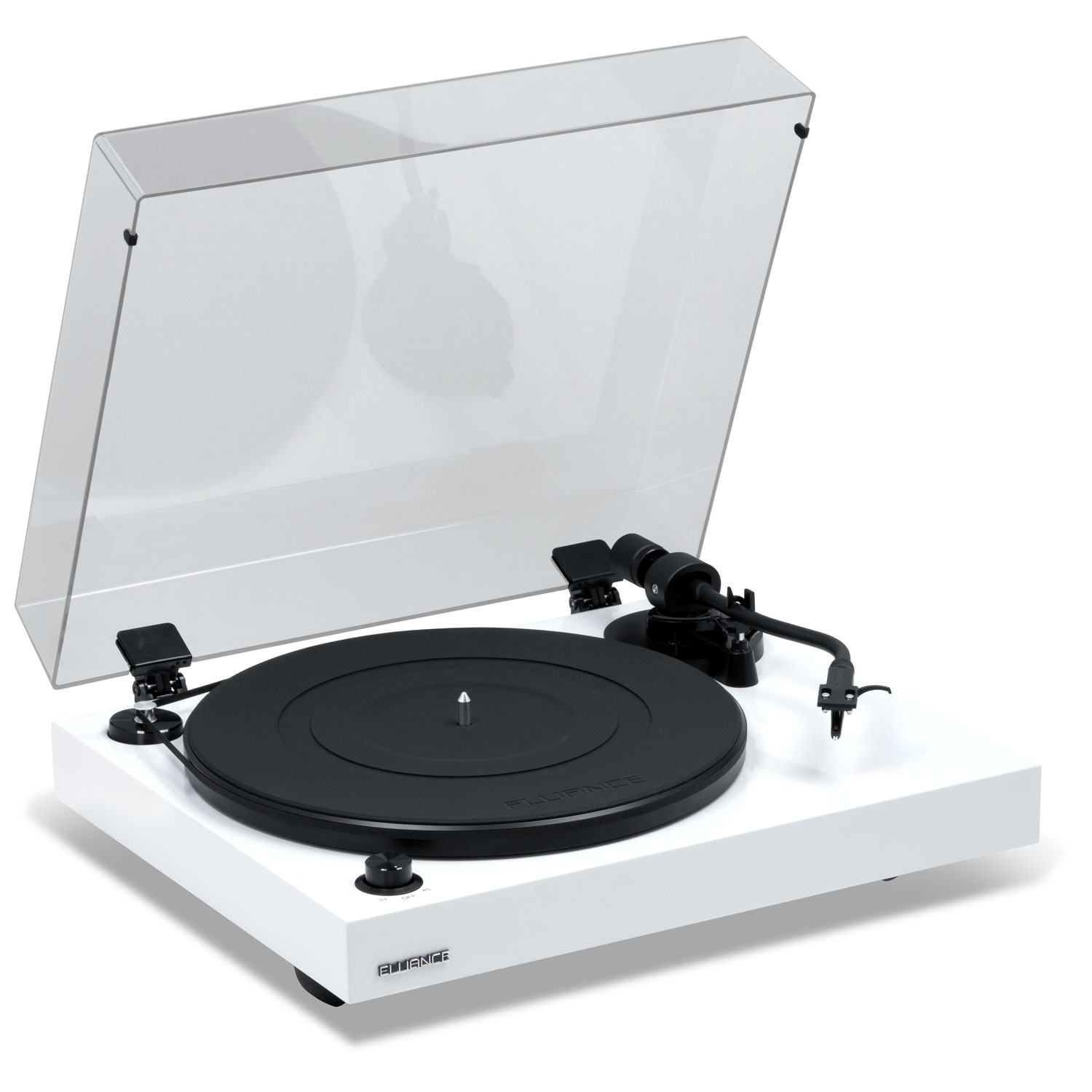 RT82W Reference High Fidelity Vinyl Turntable - Left View