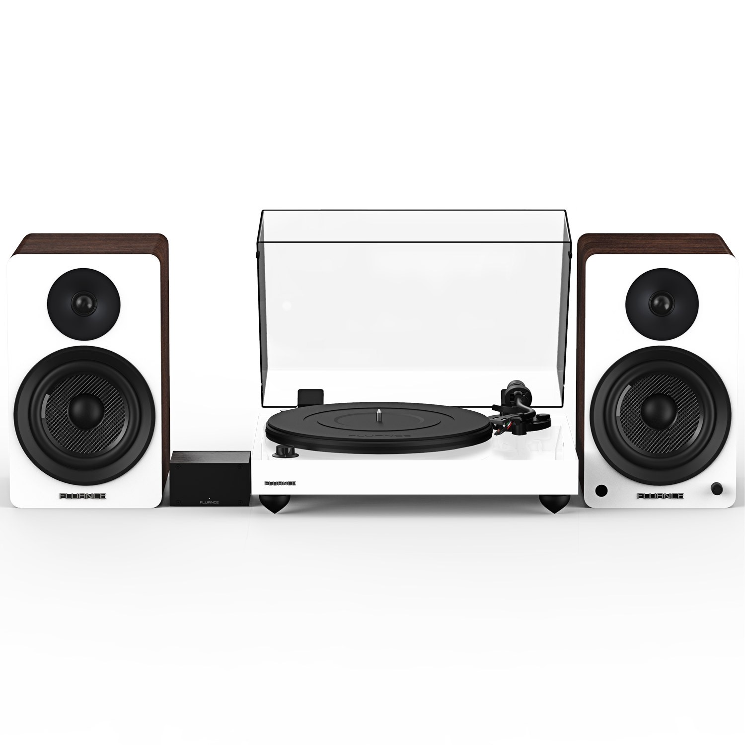 """Reference RT82 High Fidelity Vinyl Turntable with PA10 Phono Preamp and Ai61 Powered 6.5"""" Bookshelf Speakers - Main"""