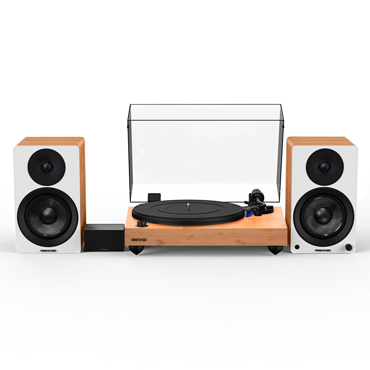 """Reference RT84 High Fidelity Vinyl Turntable with PA10 Phono Preamp and Ai41 Powered 5"""" Bookshelf Speakers - Main"""