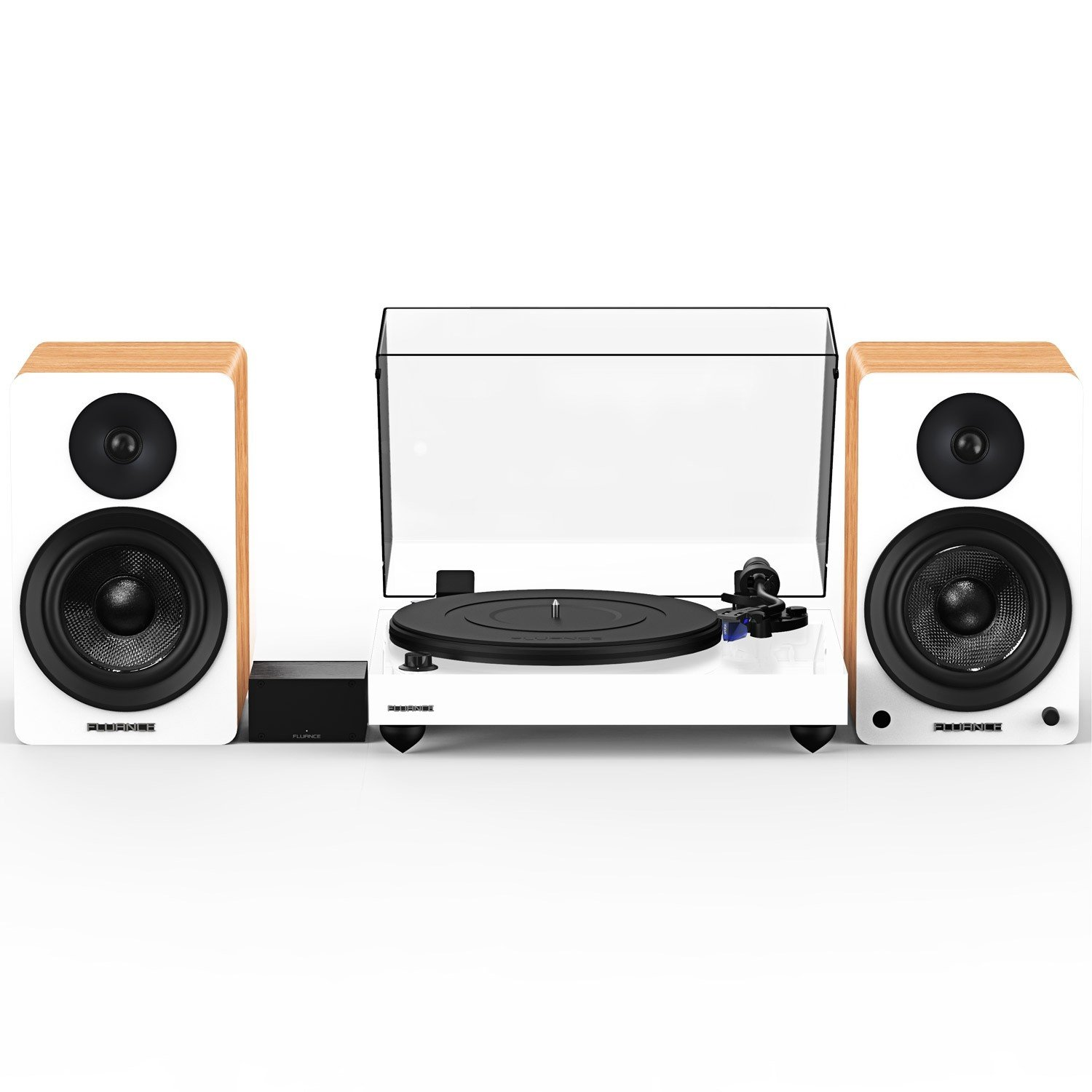 """Reference RT84 High Fidelity Vinyl Turntable with PA10 Phono Preamp and Ai61 Powered 6.5"""" Stereo Bookshelf Speakers - Main"""