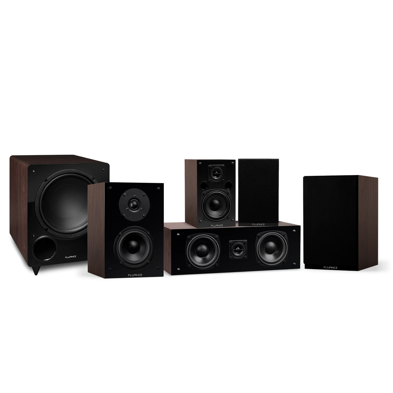 Elite Series Compact Surround Sound Home Theater 5.1 Channel Speaker System