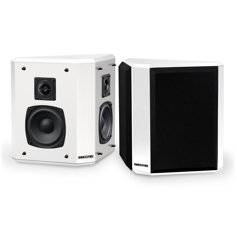 Elite Series Bipolar Surround Sound Satellite Speakers - White