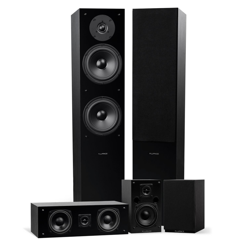 Elite High Definition Surround Sound Home Theater 5.0 Channel Speaker System