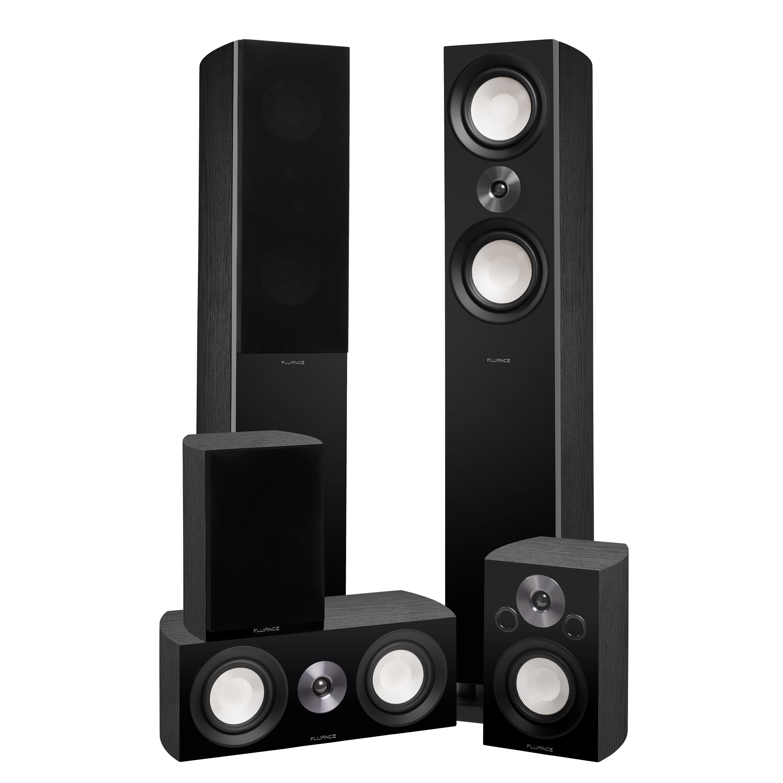 XL8HTB Reference Series Home Theater Surround Sound Speakers