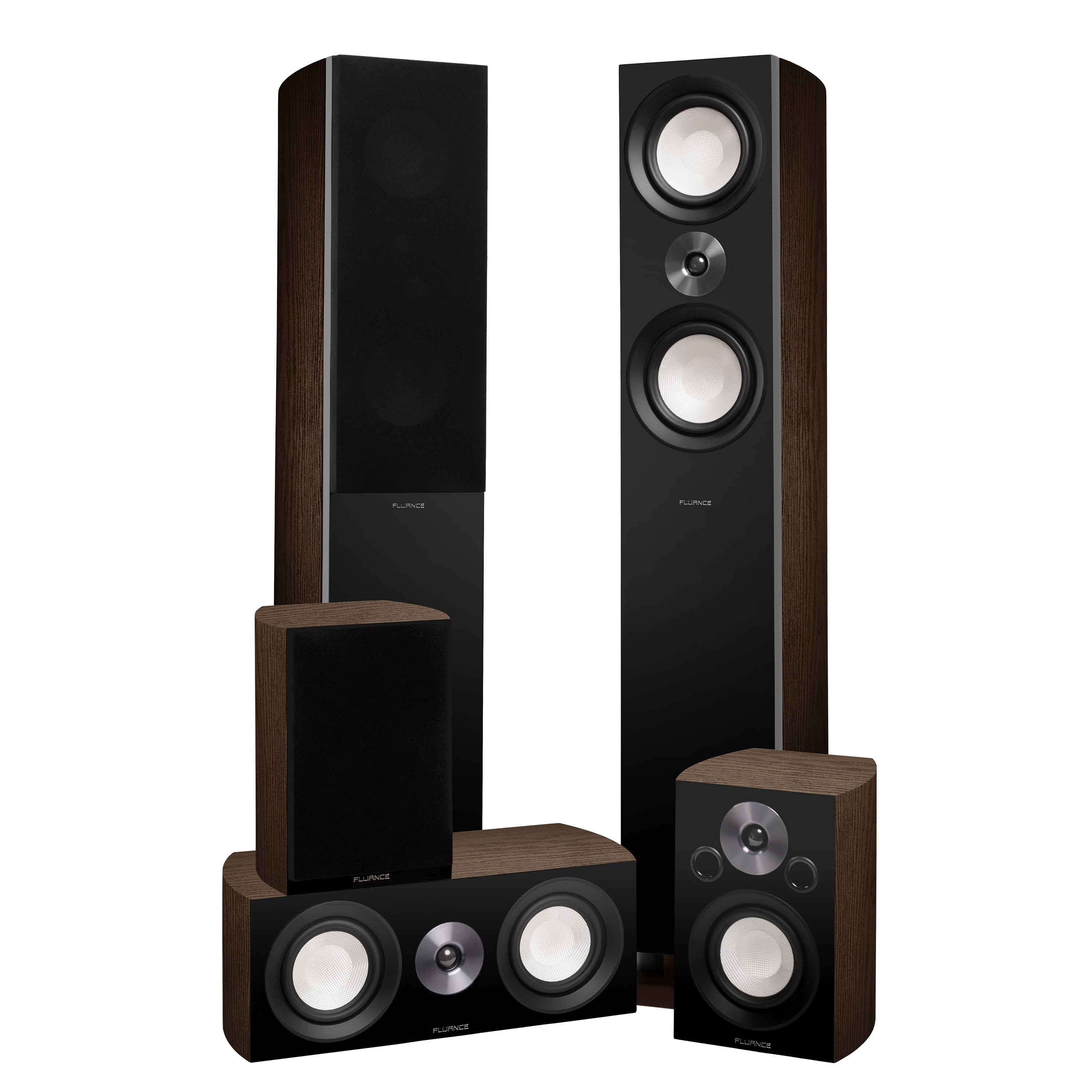 XL8HTBW Reference Series Home Theater Surround Sound Speakers