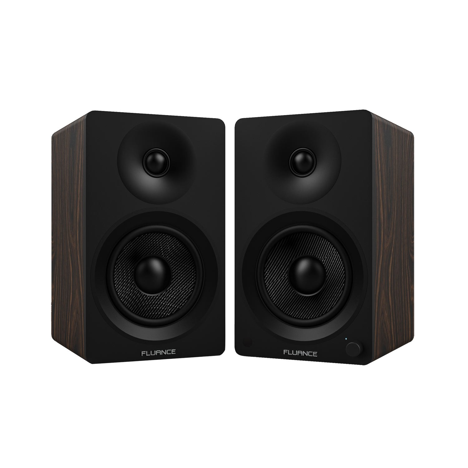 "Ai40 Powered 5"" Bookshelf Speakers - Natural Walnut"