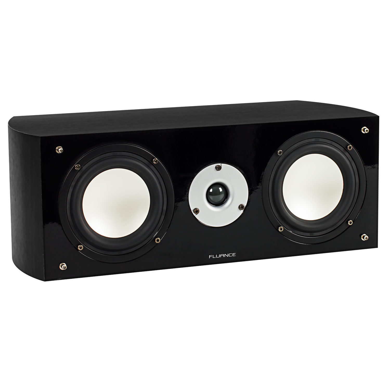 XL7C High Performance Two-way Center Channel Speaker - Black