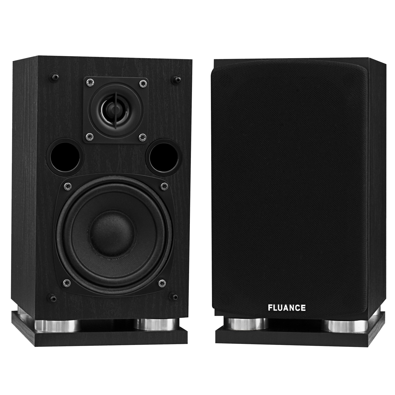 Fluance SX Series Surround Sound Speakers - Black