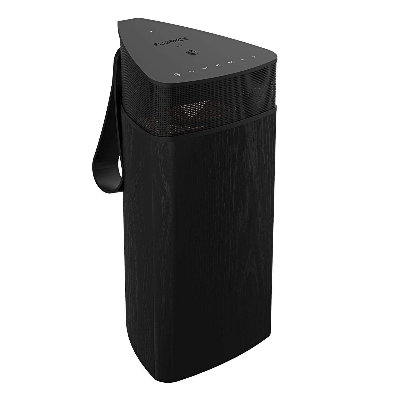 Fi20 High Performance Portable Wireless 360 Degree Speaker - Black Ash