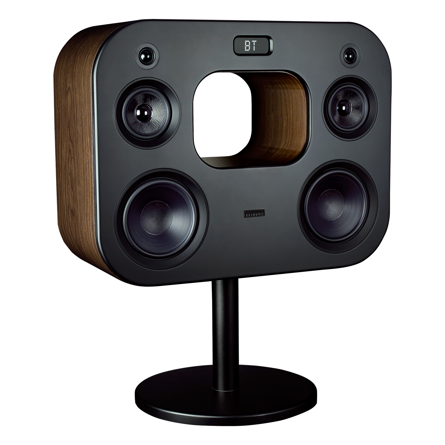 Fi70 Three-Way Wireless High Fidelity Music System - Natural Walnut