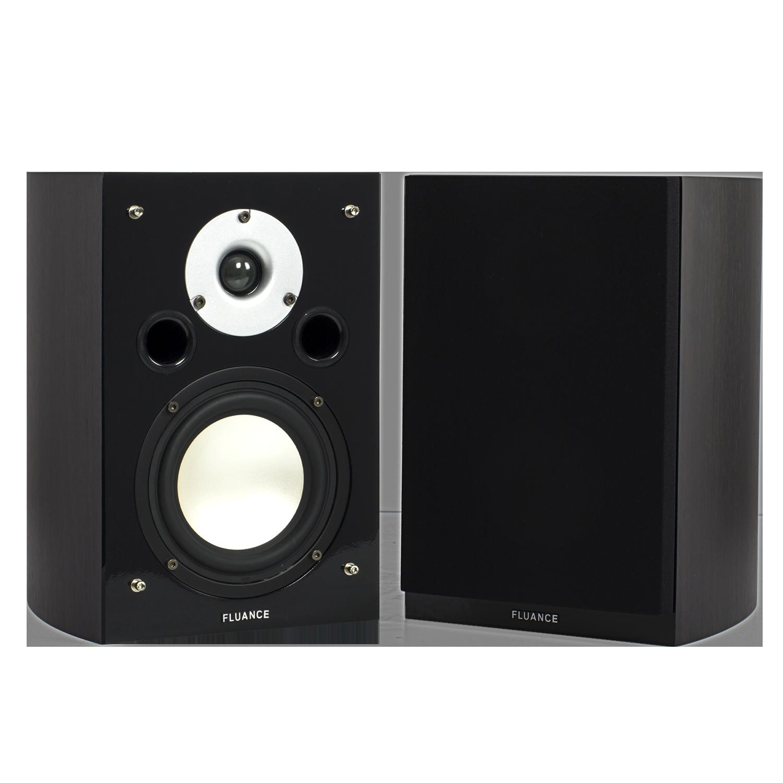 Fluance High Performance Two-way Bookshelf Surround Sound Speakers - Dark Walnut (XL7S-DW) main