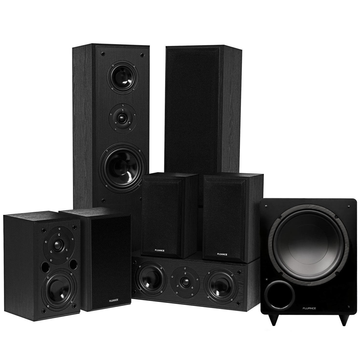 Classic Series Surround Sound Home Theater 7.1 Channel Speaker System