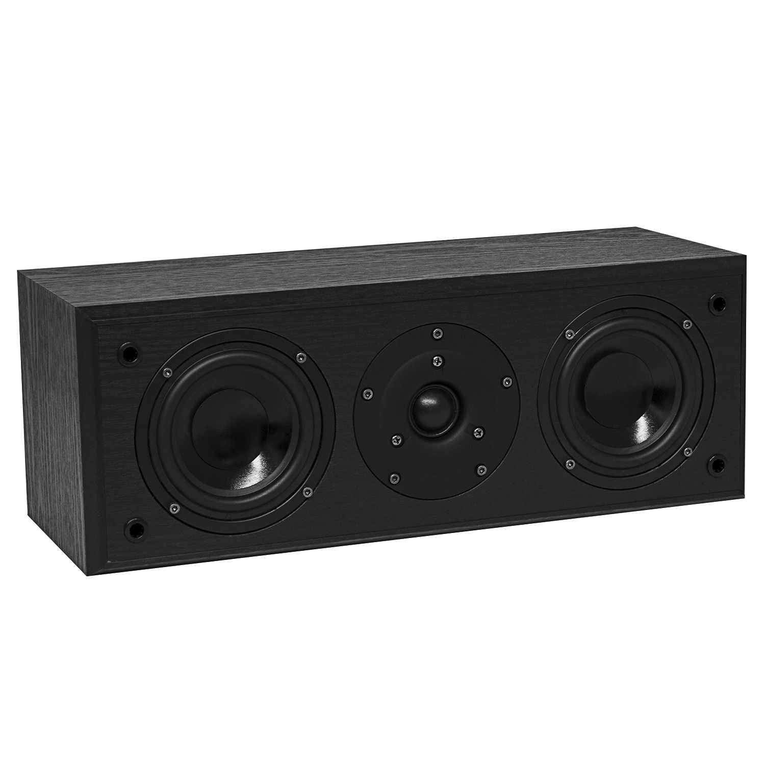 Fluance AVC AV Series Black Ash Center Channel Speaker Main
