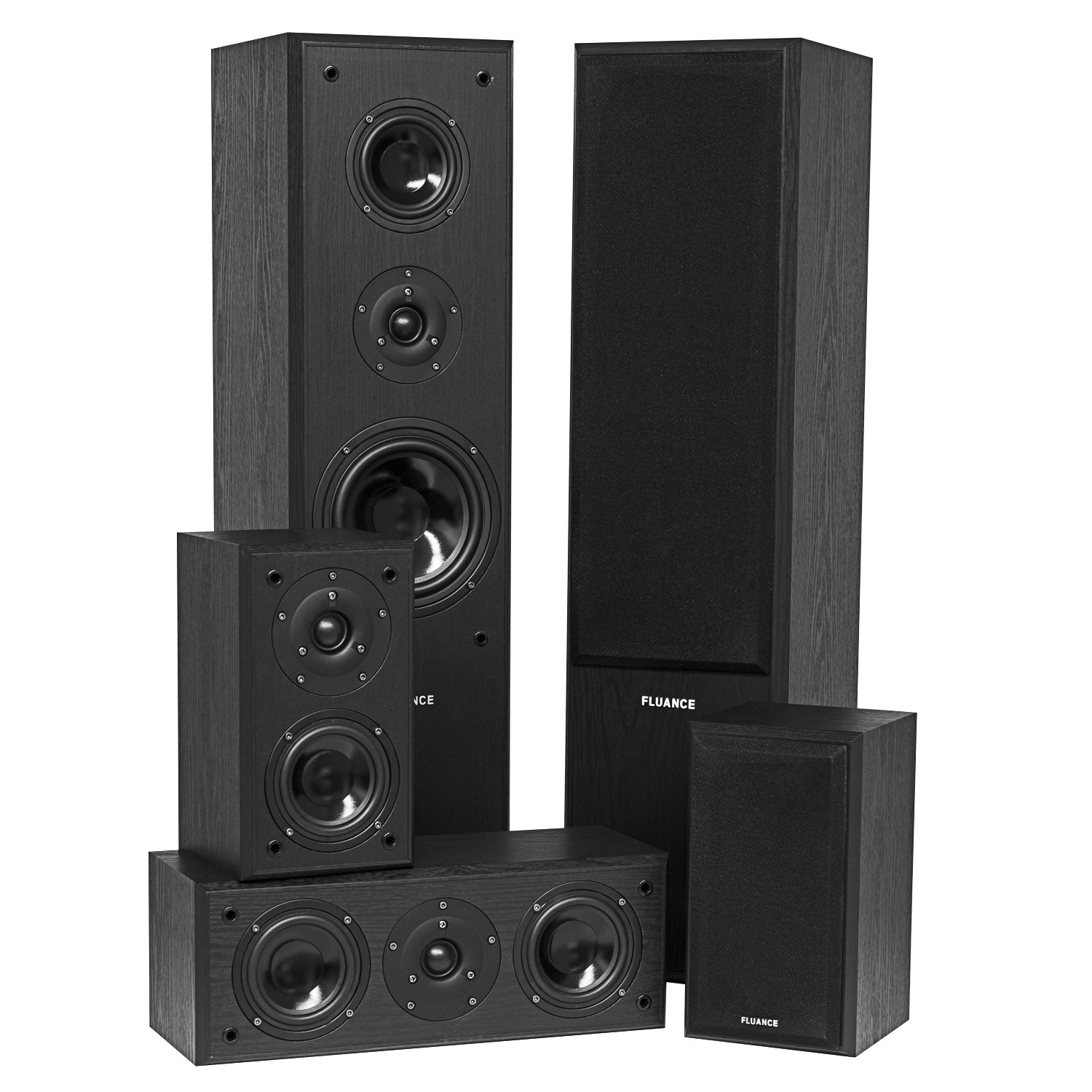 Avhtb Surround Sound Home Theater 5 Speaker System Fluance