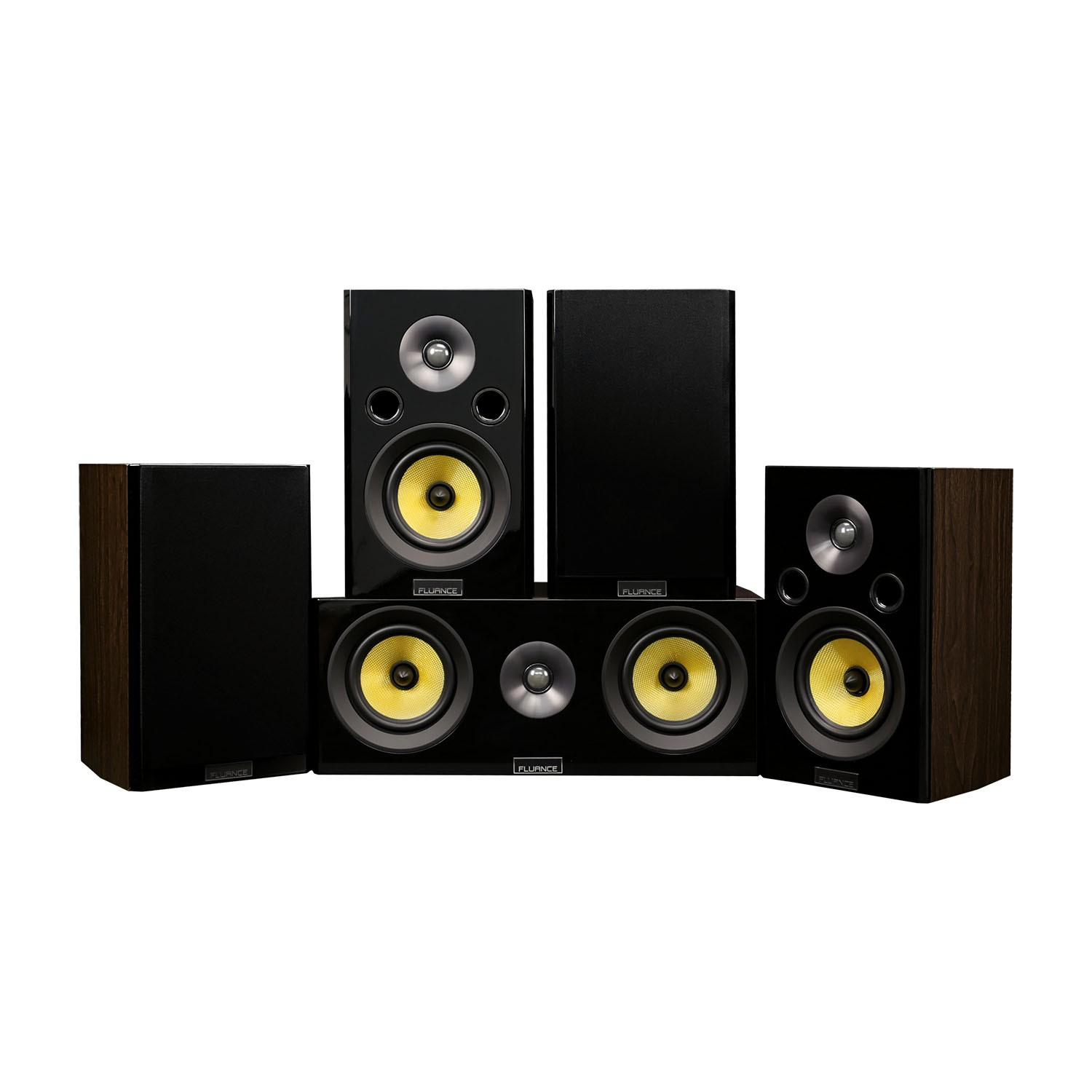 Signature Series Hi Fi 50 Home Theater Speaker System With Bookshelf Speakers