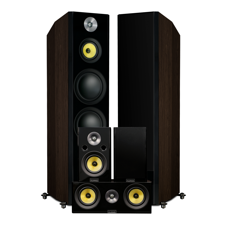 Fluance Signature HFHTB Home Theater Speaker System