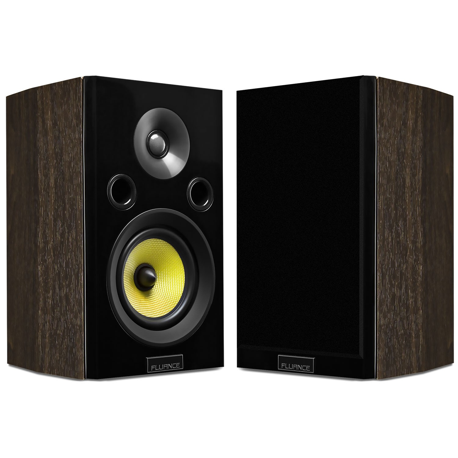 Fluance HFSW Signature Series Bookshelf Speakers Alternate