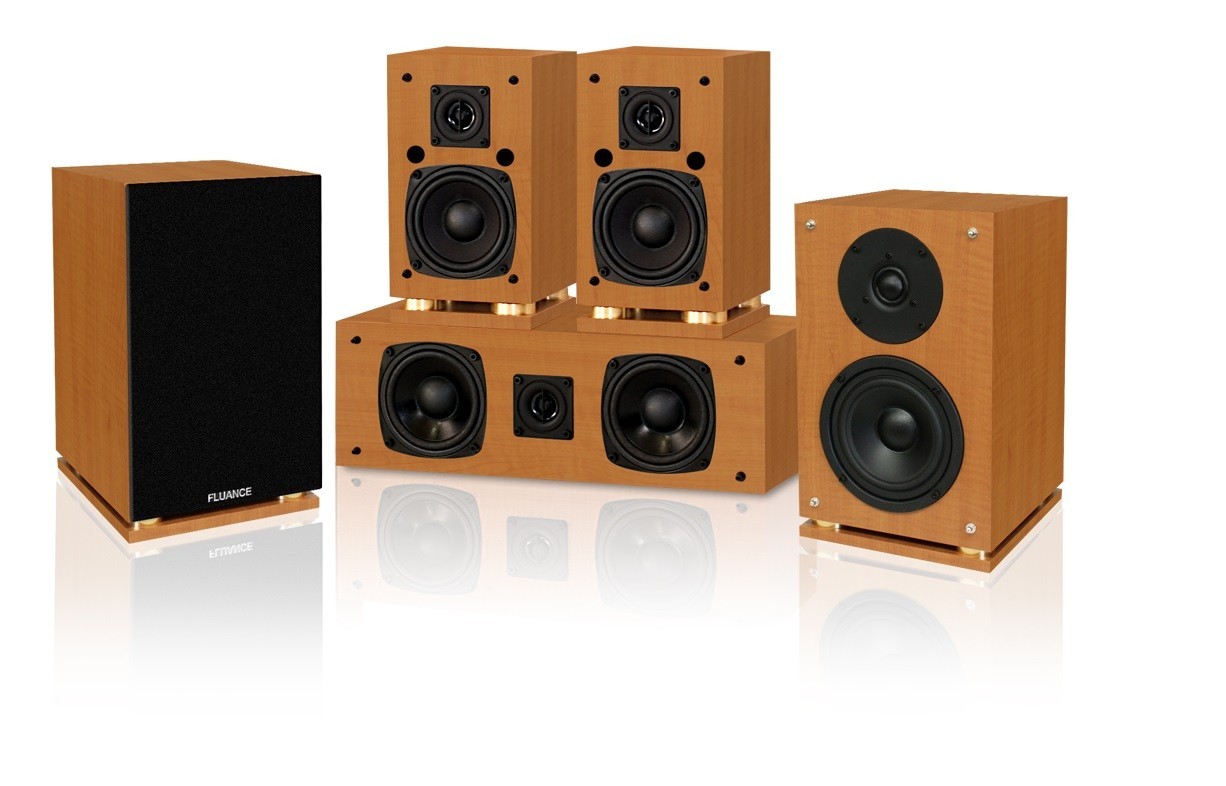 Classic Elite Series 5.0 Home Theater Speaker System