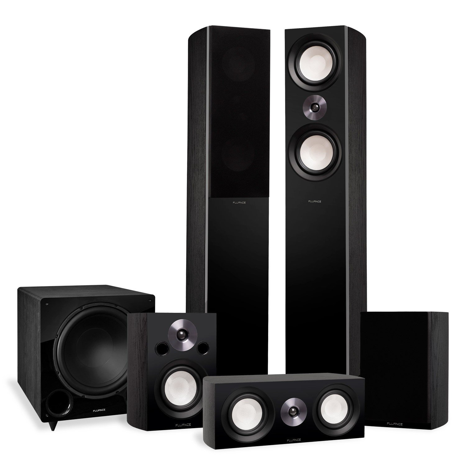 Reference Surround Sound Home Theater 5.1 Channel Speaker System with DB12 Subwoofer