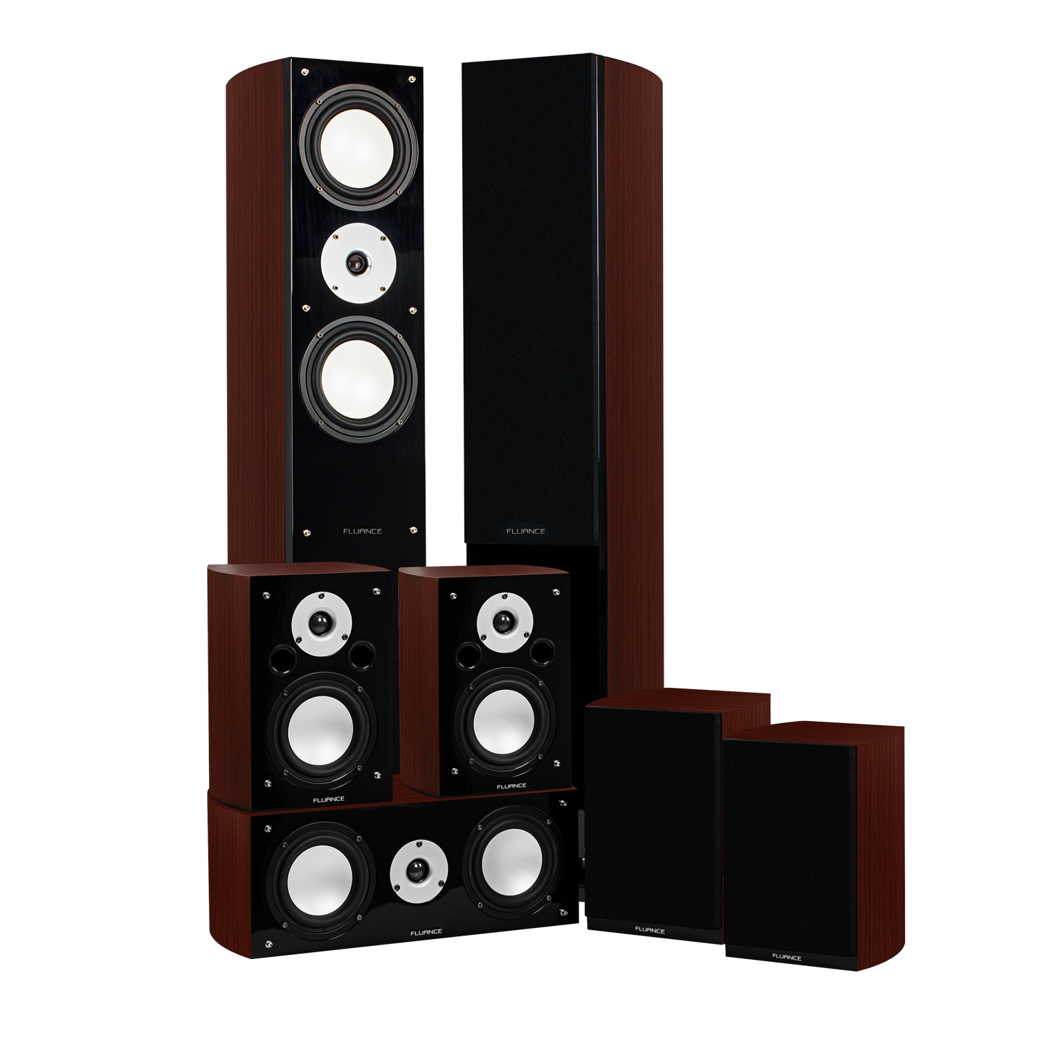 Reference Series Surround Sound Home Theater 7.0 Channel Speaker System