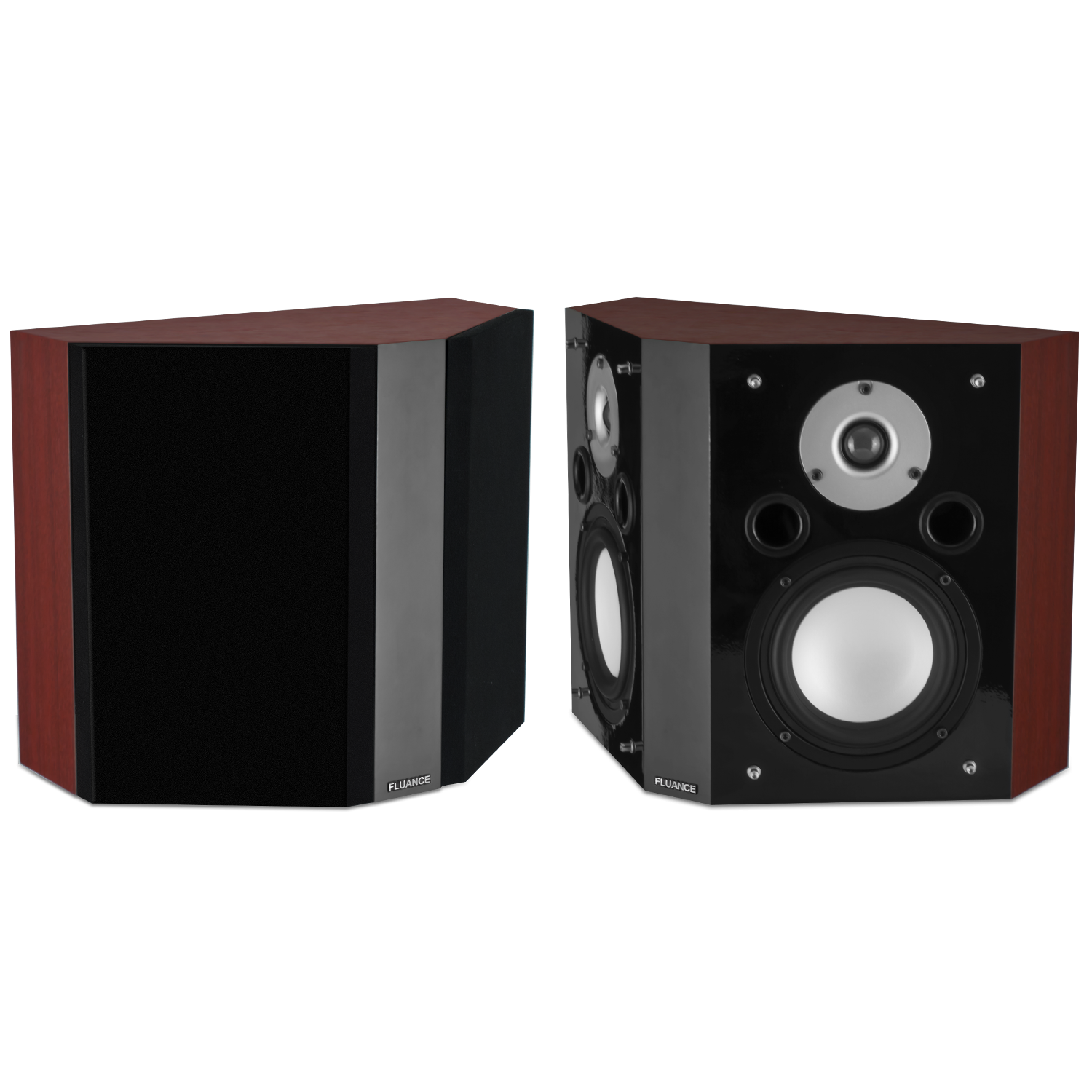 Fluance XLBP Bipolar Wide Dispersion Surround Sound Speakers - Main