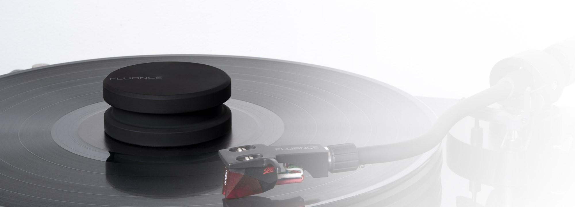 HiFi Vinyl Record Weight - Lifestyle