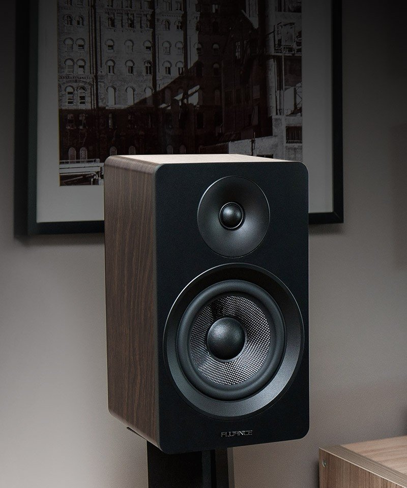 "Ai61B Powered 6.5"" Stereo Bookshelf Speakers"