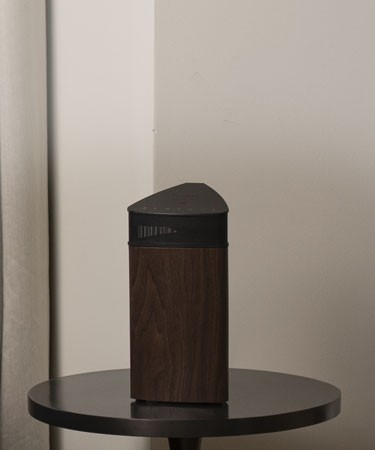Fi20 High Performance Portable Wireless 360 Degree Speaker - Natural Walnut