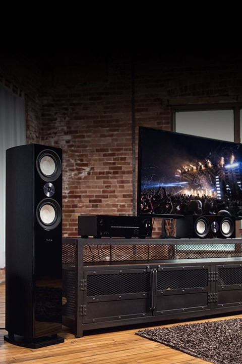 Reference Surround Sound Home Theater 5.1 Channel Speaker System with DB12 Subwoofer - Lifestyle Mobile