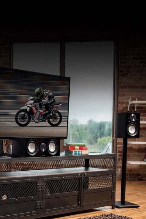Reference Compact Surround Sound Home Theater 5.0 Channel Speaker System - Lifestyle Mobile