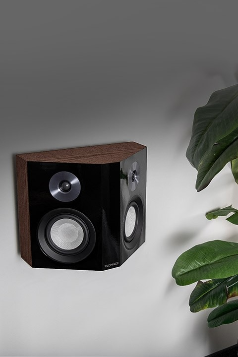 XLBPW Bipolar Surround Sound Speaker on wall