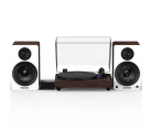 """Reference RT84 High Fidelity Vinyl Turntable with PA10 Phono Preamp and Ai61 Powered 6.5"""" Stereo Bookshelf Speakers Image"""
